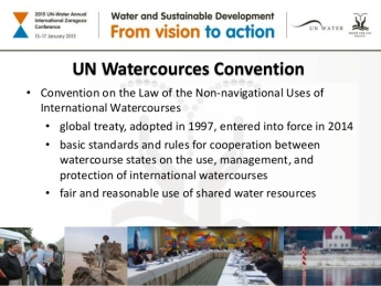 watercourse convention